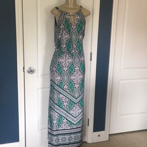 White House Black Market maxi dress sz XS